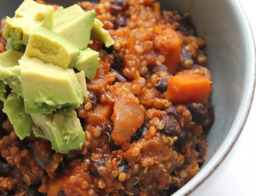 Recipe: Sweet Potato Quinoa Chili